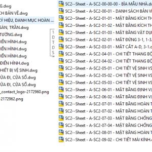 Full 1.4 GB bản vẽ thi công Kiến trúc, kết cấu , Cơ điện