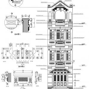 [Share full] Thiết kế kiến trúc nhà ở hộ gia đình