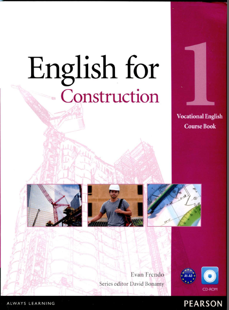 Ebook + Mp3 English for Construction - Tiếng anh trong xây dựng